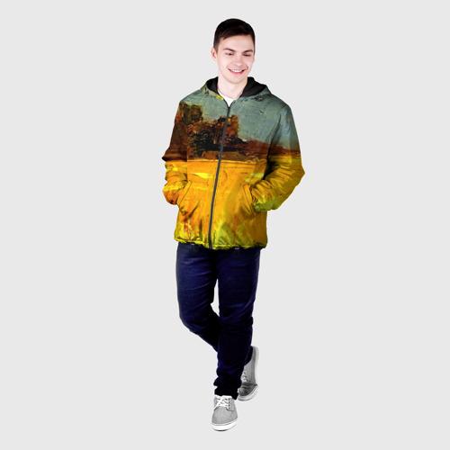 Мужская куртка 3D  Фото 03, Картина маслом