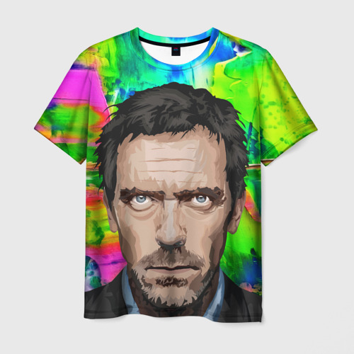 Мужская футболка 3D  Фото 03, Доктор хаус