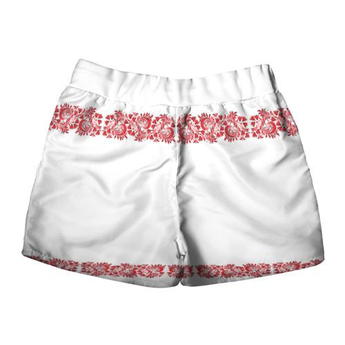 Женские шорты 3D  Фото 02, Вышиванка