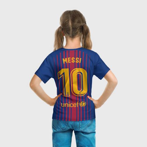Детская футболка 3D Лионель Месси Фото 01