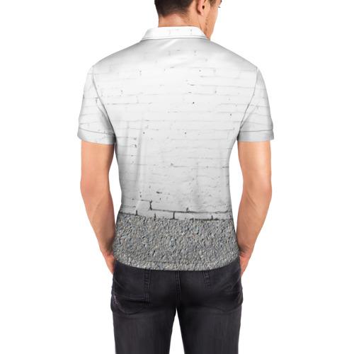 Мужская рубашка поло 3D  Фото 04, Панда вандал