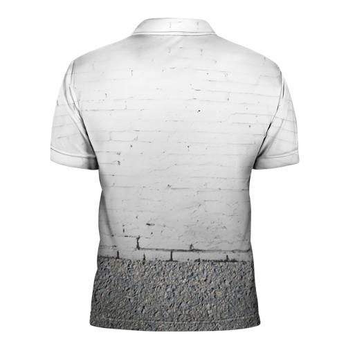 Мужская рубашка поло 3D  Фото 02, Панда вандал