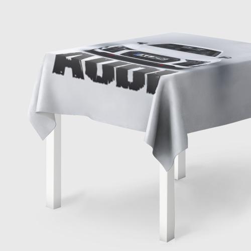 Скатерть 3D  Фото 01, Audi серебро