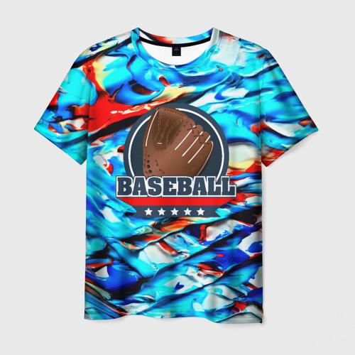 Мужская футболка 3D  Фото 01, Бейсбол color