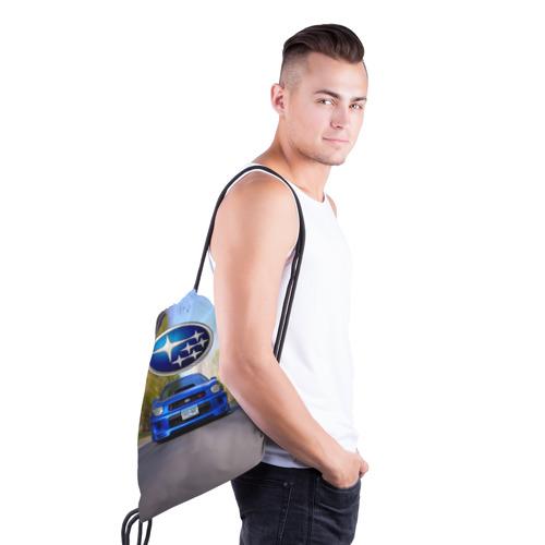 Рюкзак-мешок 3D  Фото 03, Road