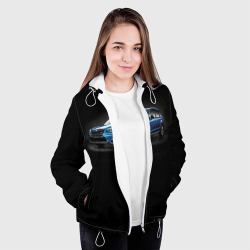 Женская куртка 3D  Фото 04, Black