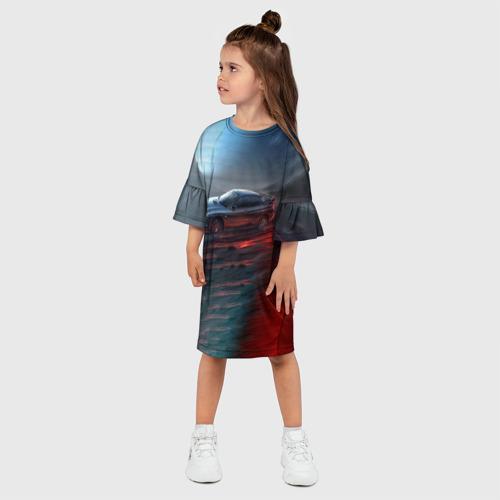 Детское платье 3D  Фото 03, Subaru