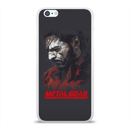 Чехол для Apple iPhone 6Plus/6SPlus силиконовый глянцевый  Фото 01, Metal Gear Solid