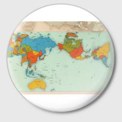 Правильная карта мира.