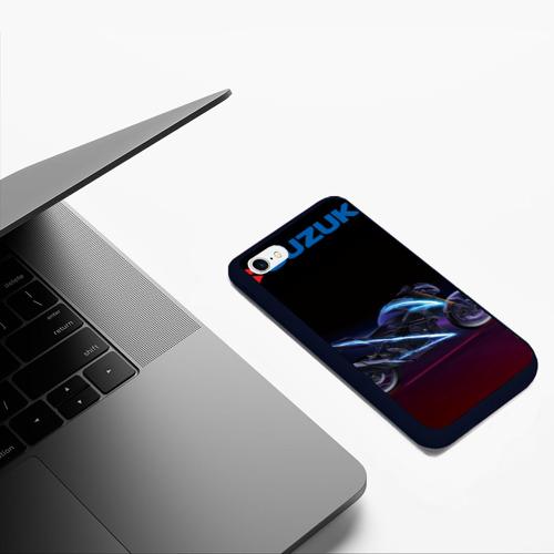 Чехол для iPhone 6/6S матовый Suzuki Фото 01