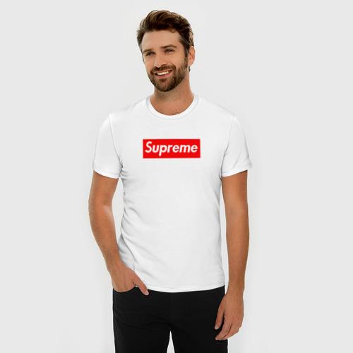 Мужская футболка премиум Supreme