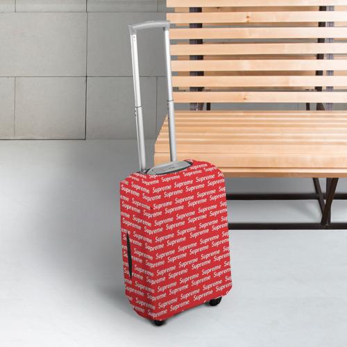 Чехол для чемодана 3D  Фото 03, Supreme