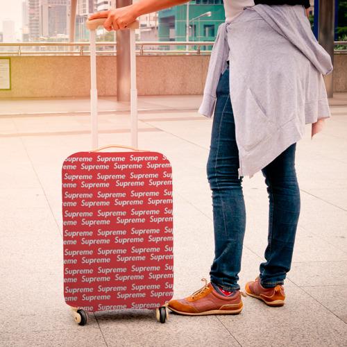 Чехол для чемодана 3D  Фото 04, Supreme