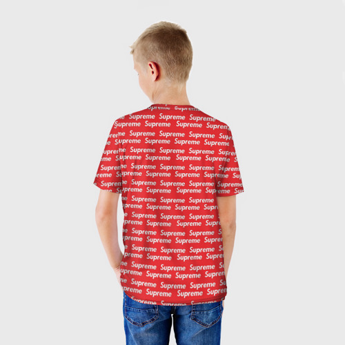 Детская футболка 3D  Фото 02, Supreme