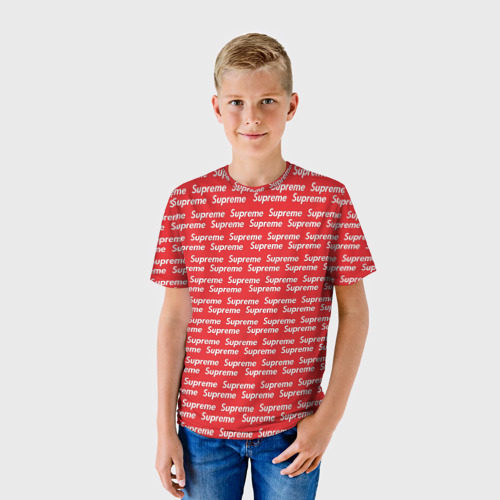 Детская футболка 3D  Фото 01, Supreme