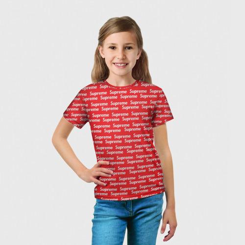 Детская футболка 3D  Фото 03, Supreme