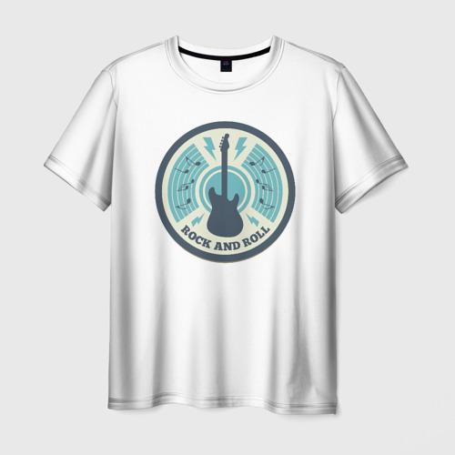 Мужская футболка 3D  Фото 01, Rock and Roll