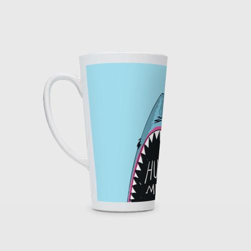 Кружка Латте Обними Меня / Акула