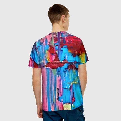 Мужская футболка 3D  Фото 02, Котик