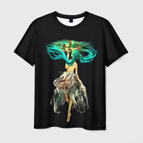 Мужская футболка 3D  Фото 01, Vokaloid