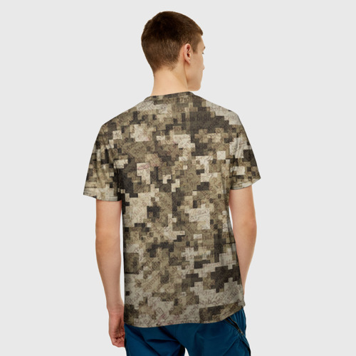 Мужская футболка 3D  Фото 02, Khaki 5