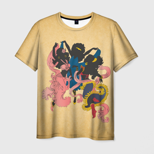 Мужская футболка 3D  Фото 03, Солнечные эльфы