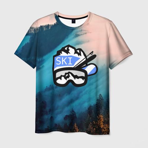 Мужская футболка 3D  Фото 03, SKI