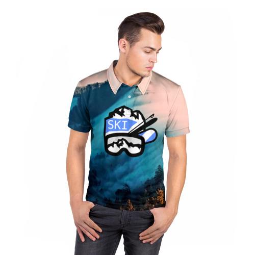 Мужская рубашка поло 3D  Фото 05, SKI