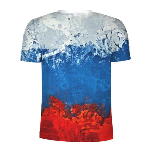 Мужская футболка 3D спортивная  Фото 02, Буйвол