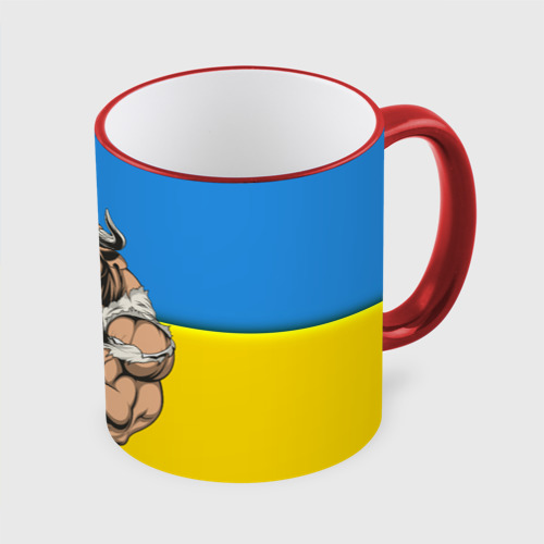 Кружка с полной запечаткой Буйвол-Украина