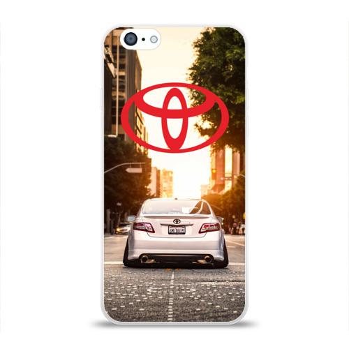 Чехол для Apple iPhone 6 силиконовый глянцевый  Фото 01, Red