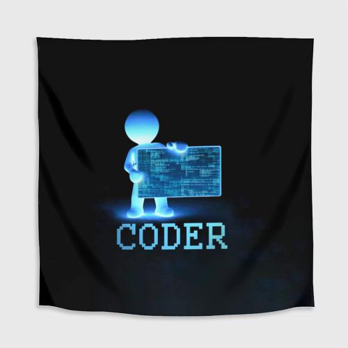 Скатерть 3D  Фото 02, Coder - программист кодировщик