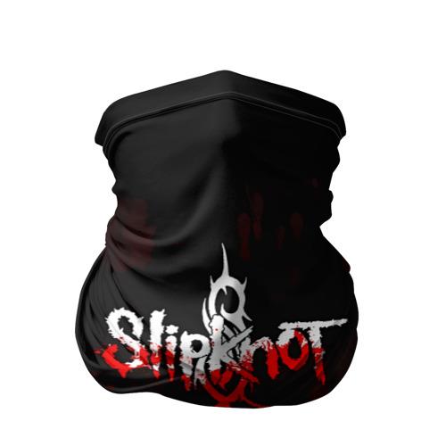 Бандана-труба 3D Slipknot пятна