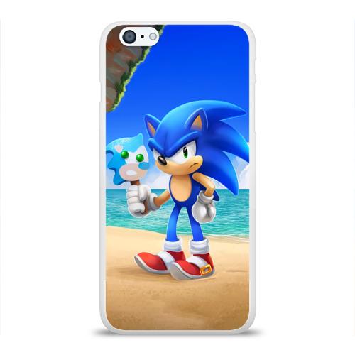Чехол для Apple iPhone 6Plus/6SPlus силиконовый глянцевый Остров Фото 01