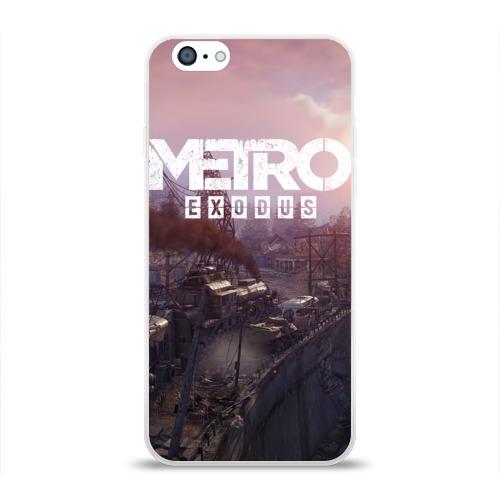 Чехол для Apple iPhone 6 силиконовый глянцевый METRO Фото 01