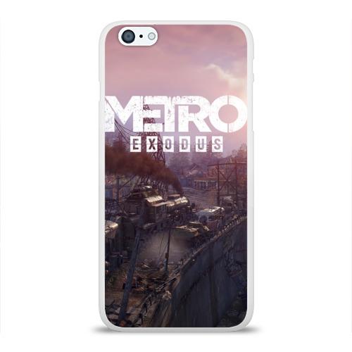 Чехол для Apple iPhone 6Plus/6SPlus силиконовый глянцевый METRO Фото 01