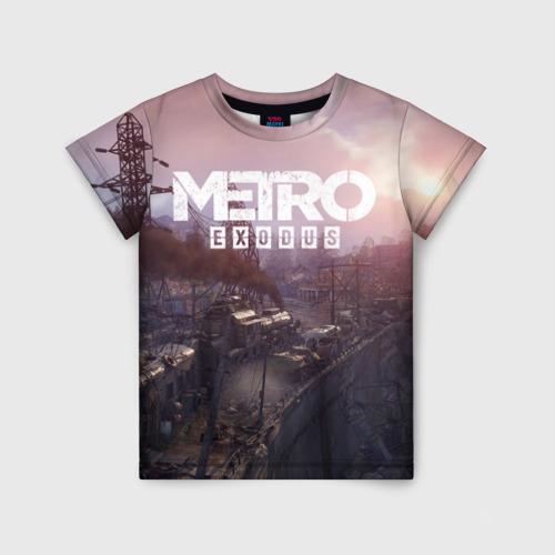 Детская футболка 3D METRO Фото 01