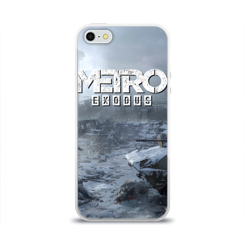 Чехол для Apple iPhone 5/5S силиконовый глянцевый EXODUS Фото 01
