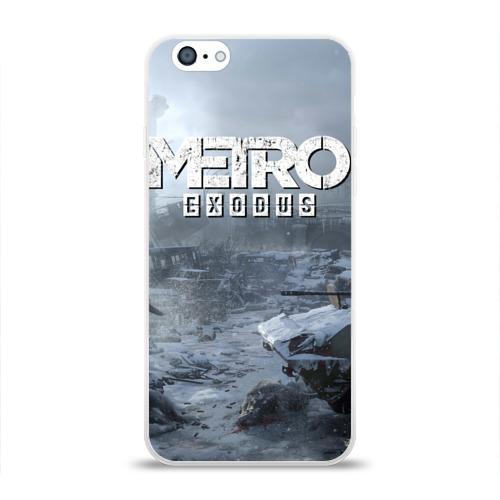 Чехол для Apple iPhone 6 силиконовый глянцевый EXODUS Фото 01