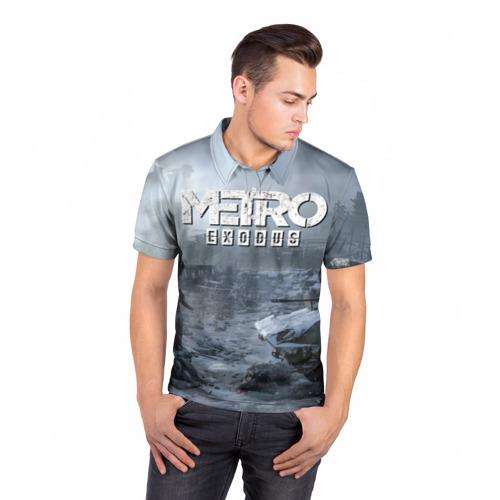 Мужская рубашка поло 3D EXODUS Фото 01