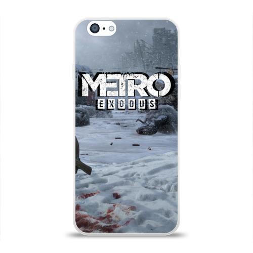Чехол для Apple iPhone 6 силиконовый глянцевый METRO EXODUS Фото 01