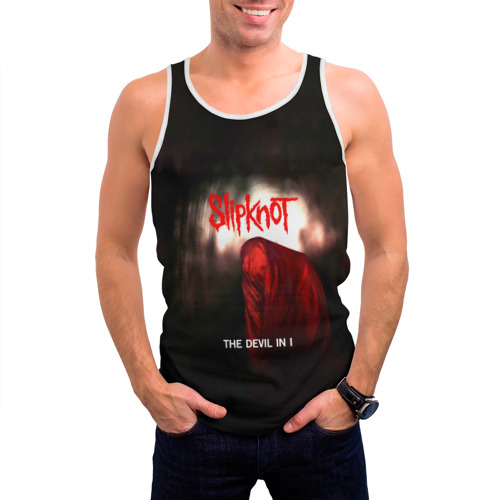 Мужская майка 3D  Фото 03, Slipknot - The devil in i
