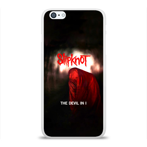 Чехол для Apple iPhone 6Plus/6SPlus силиконовый глянцевый  Фото 01, Slipknot - The devil in i