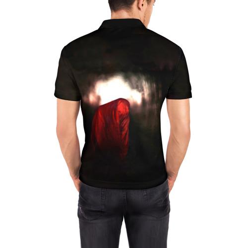Мужская рубашка поло 3D  Фото 04, Slipknot - The devil in i