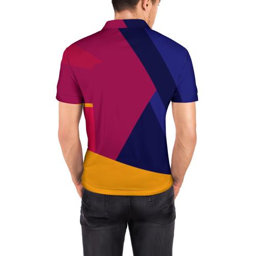 Мужская рубашка поло 3D  Фото 04, Neymar