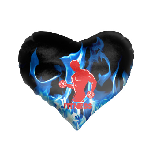 Подушка 3D сердце  Фото 01, Fitness