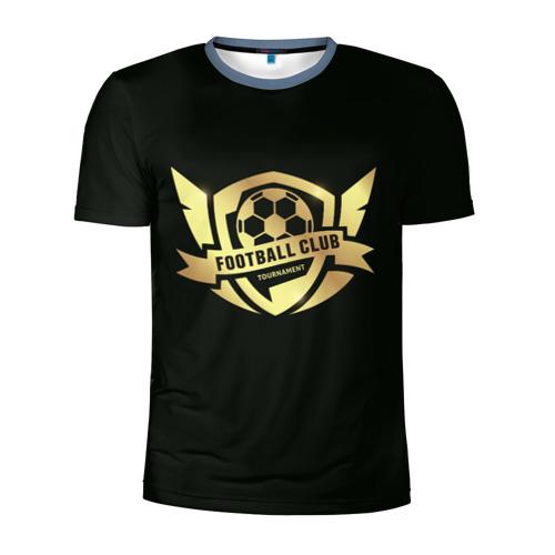 Мужская футболка 3D спортивная  Фото 01, Футбол без границ