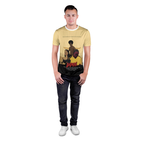 Мужская футболка 3D спортивная  Фото 04, Damn Kendrick Lamar