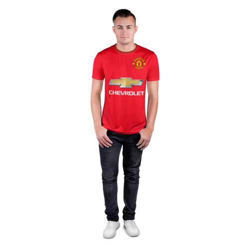 Мужская футболка 3D спортивная David de Gea Фото 01