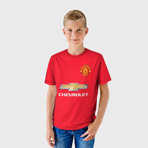Детская футболка 3D Поль Погба